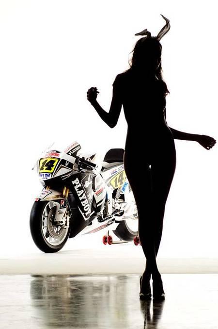 Playboy Honda LCR