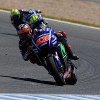 Maverick Viñales recupera las sensaciones, lidera el primer día de test de Jerez