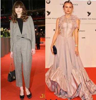 Keira Knightley y Diane Kruger en el Festival de Cine de Berlín