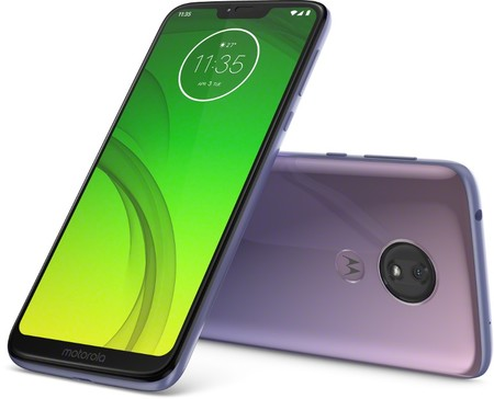 Copy Of Moto G7 Power Row Ice Violet Laydown Combo