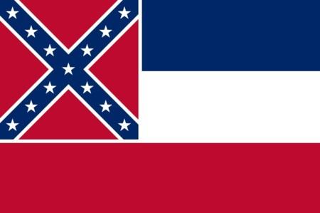 Bandera de Misisipi.