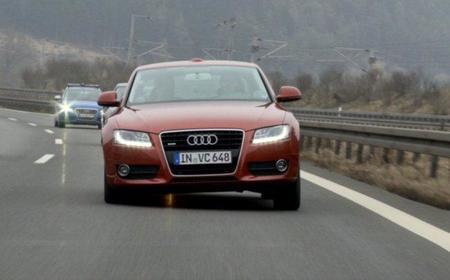 ¿Un Audi A5 que tumba en las curvas?