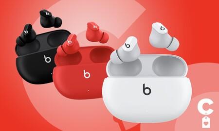 Auriculares true wireless Beats Studio Buds por 119 euros en MediaMarkt : tan baratos como los AirPods básicos pero con cancelación de ruido como los Pro