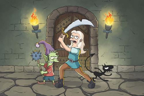 La primera temporada de '(Des)encanto' se queda a medio gas: la nueva serie de Matt Groening no explota todo su potencial