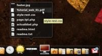 Docky mejora rápidamente: nuevo modo panel y docklets para la red y archivos recientes