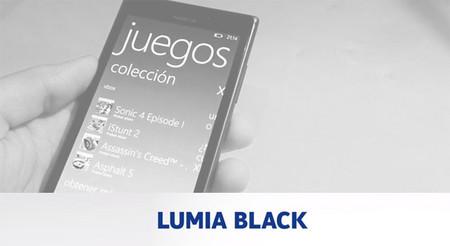 Conoce las novedades de Lumia Black [en vídeo]