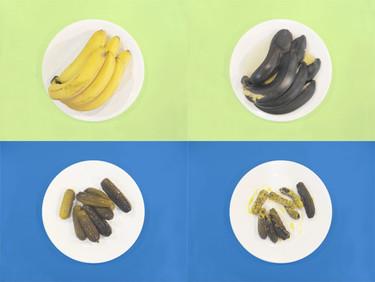 Microwhat, alimentos antes y después del microondas