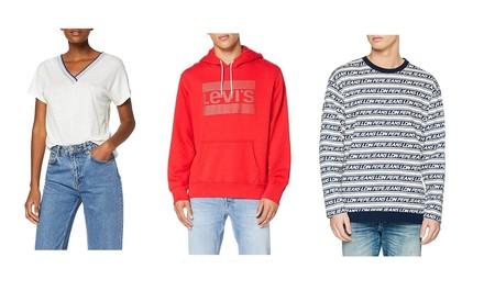 Ofertas en Levi's y Pepe Jeans: camisetas, sudaderas y pantalones por menos de 30 euros en Amazon