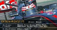 McLaren cierra Cheste por 60.000 euros