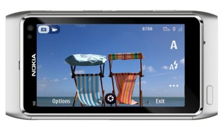 La cámara del Nokia N8 amplia sus funciones con una actualización