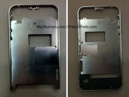 """MacRumors encuentra imágenes de la estructura metálica de un """"iPhone 4S"""""""
