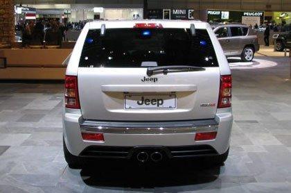Presentación Jeep Grand Cherokee SRT8 en el salón de Ginebra