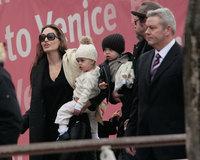 Brangelina pasan unos días por Venecia en familia
