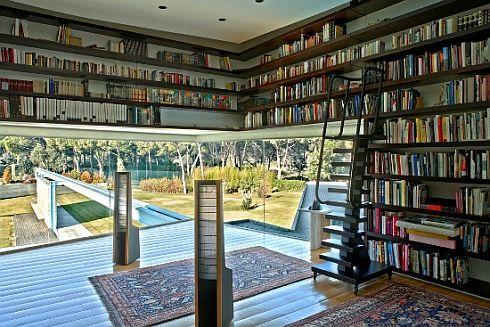 Casas que inspiran: libros en Pozuelo