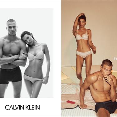 Naomi Campbell y Bella Hadid protagonizan la campaña de otoño más sexy de Calvin Klein