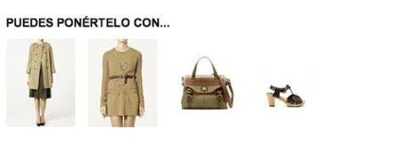 Zara estrena su tienda online. Combinación