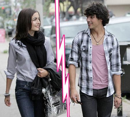 Joe Jonas y Camilla Belle han roto