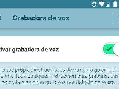 Cómo grabar tus propias instrucciones de voz en Waze