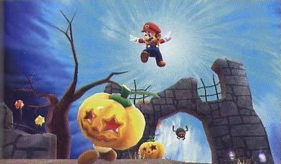 Super Mario Galaxy - Calabazas