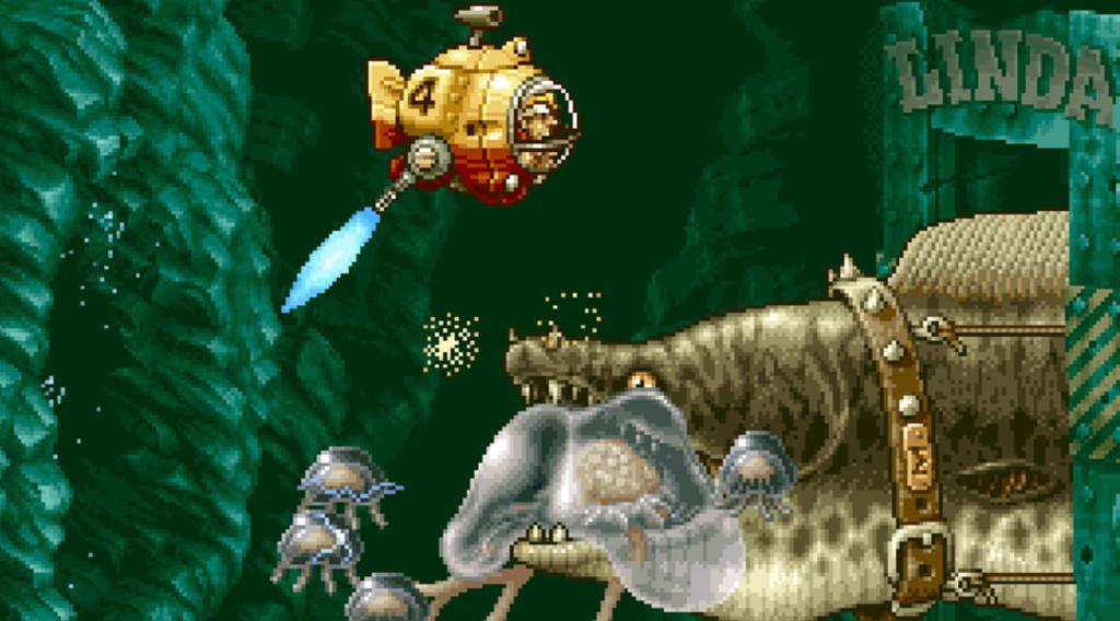 El día que Metal Slug 3 homenajeó a In the Hunt, la mejor recreativa sobre submarinos