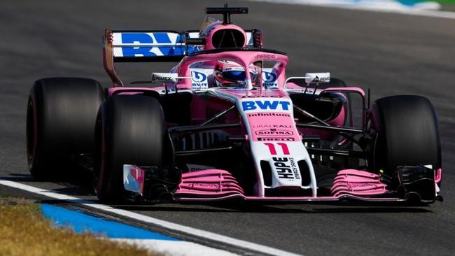 Force India, la escudería de Checo Pérez, se declara en quiebra