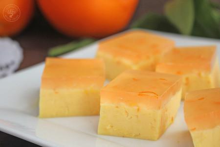 Pastel Gelatina Naranja