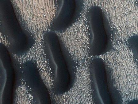 Espectaculares fotografías de las dunas de Marte tomadas con HiRISE