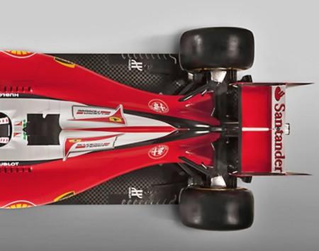 Trasera Compacta Del Nuevo Ferrari