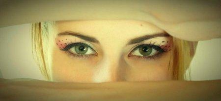 Botoks los ojos y la frente