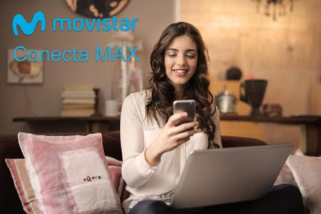 Así es Movistar Conecta MAX definitivamente, el nuevo combinado barato de fibra y móvil de Telefónica