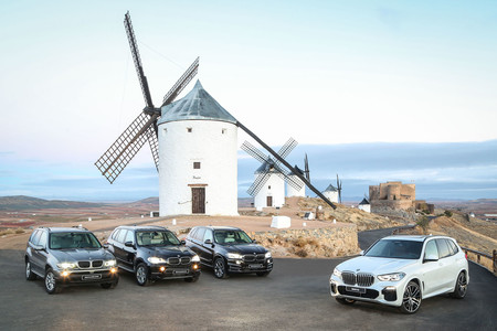 BMW X5 todas las generaciones