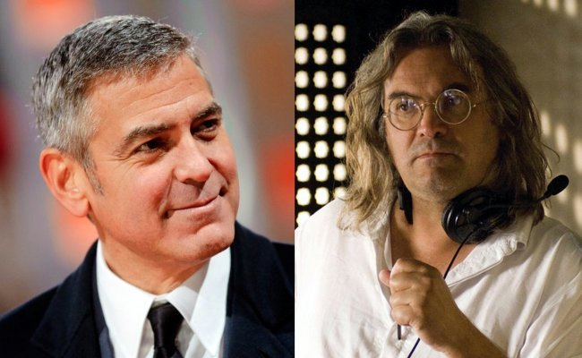 George Clooney y Paul Greengrass