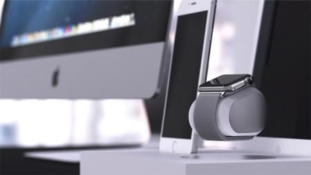 Lleva tu Apple Watch a otro nivel, cárgalo con este dock que levita
