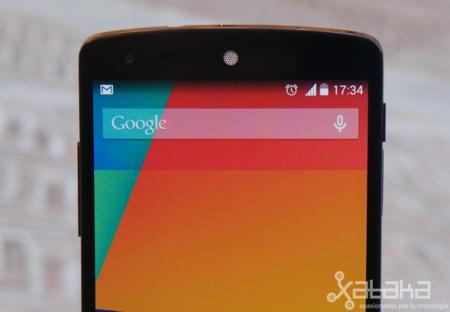 Nexus 5 detalle pantalla