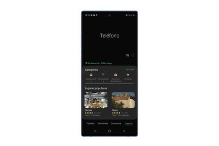Por qué los móviles de Samsung pueden mostrar publicidad en la aplicación de teléfono