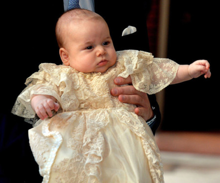 príncipe George bautizo