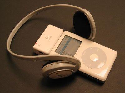 Auriculares inalámbricos para el iPod