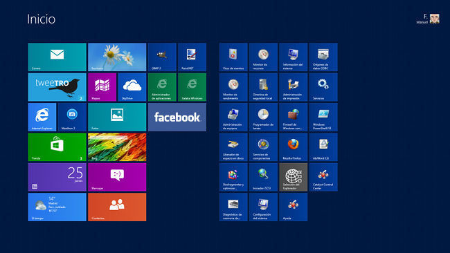Facebook en Windows 8