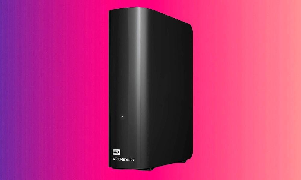 Amazon te deja el disco duro de sobremes Western Digital Elements Desktop de 8 TB por sólo 149 euros con envío gratis