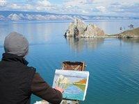 Verano en el lago Baikal
