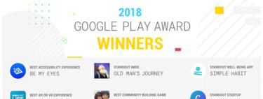 Google Play Awards 2018: estos son los nueve mejores juegos y aplicaciones del año