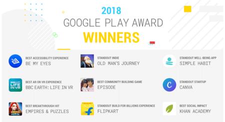 Google Play Awards 2018 Estos Son Los Nueve Mejores Juegos Y