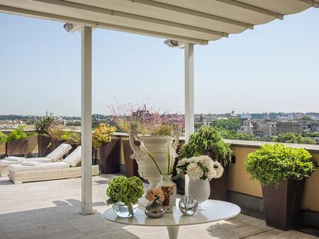 Hotel Villaagrippina Roma Granmelia Terrazatumbonas