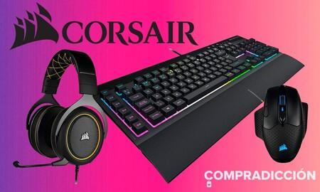 Periféricos y componentes gaming de Corsair a precios rebajados esta semana en Amazon
