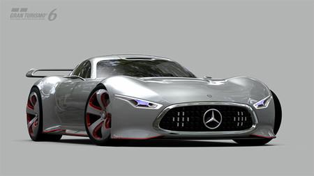 Gran Turismo 6 también tendrá autos exclusivos, aquí el Mercedes-Benz AMG Vision Gran Turismo