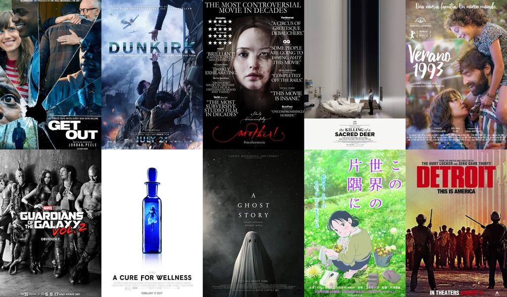 Algunas de las mejores películas de 2017