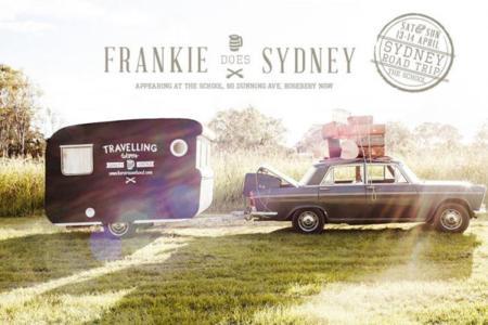 tienda vintage en una caravana