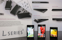 Optimus LII Series, los tres nuevos móviles asequibles de LG