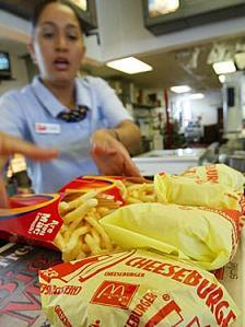 El fast food le gana terreno a la dieta saludable en el Reino Unido