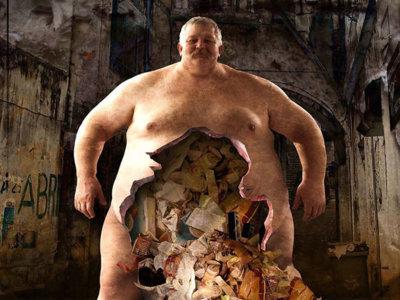 El lado oscuro de la sociedad retratado en 29 impactantes ilustraciones surrealistas